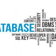 Databse word cloud