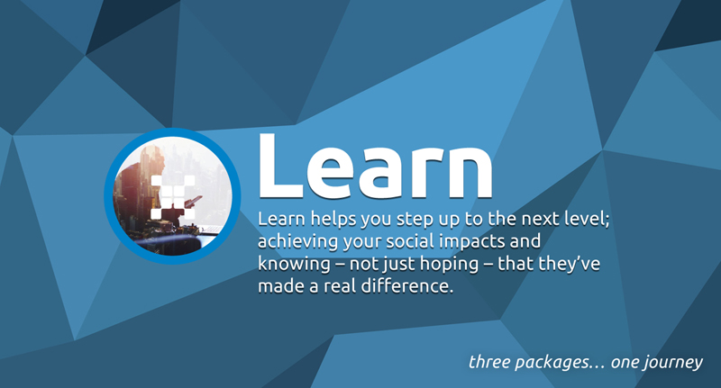 Are you ready to embark on your social impact journey? Get The Data